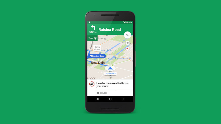 Google Maps will now help you avoid traffic jams across India