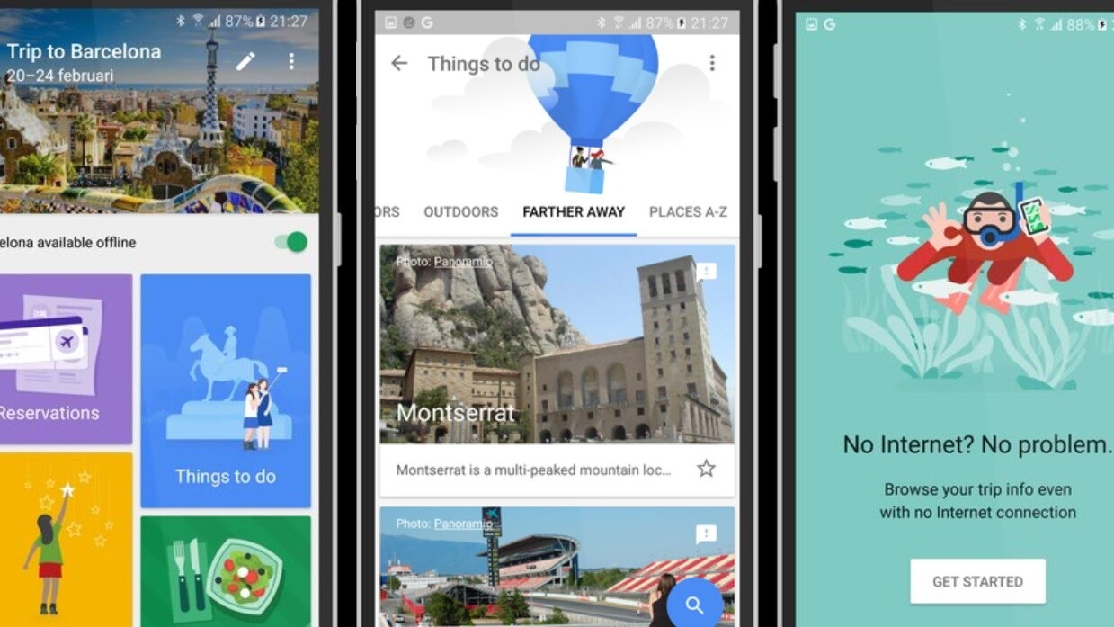 Google is reportedly building an awesome all-in-one travel app called Trips
