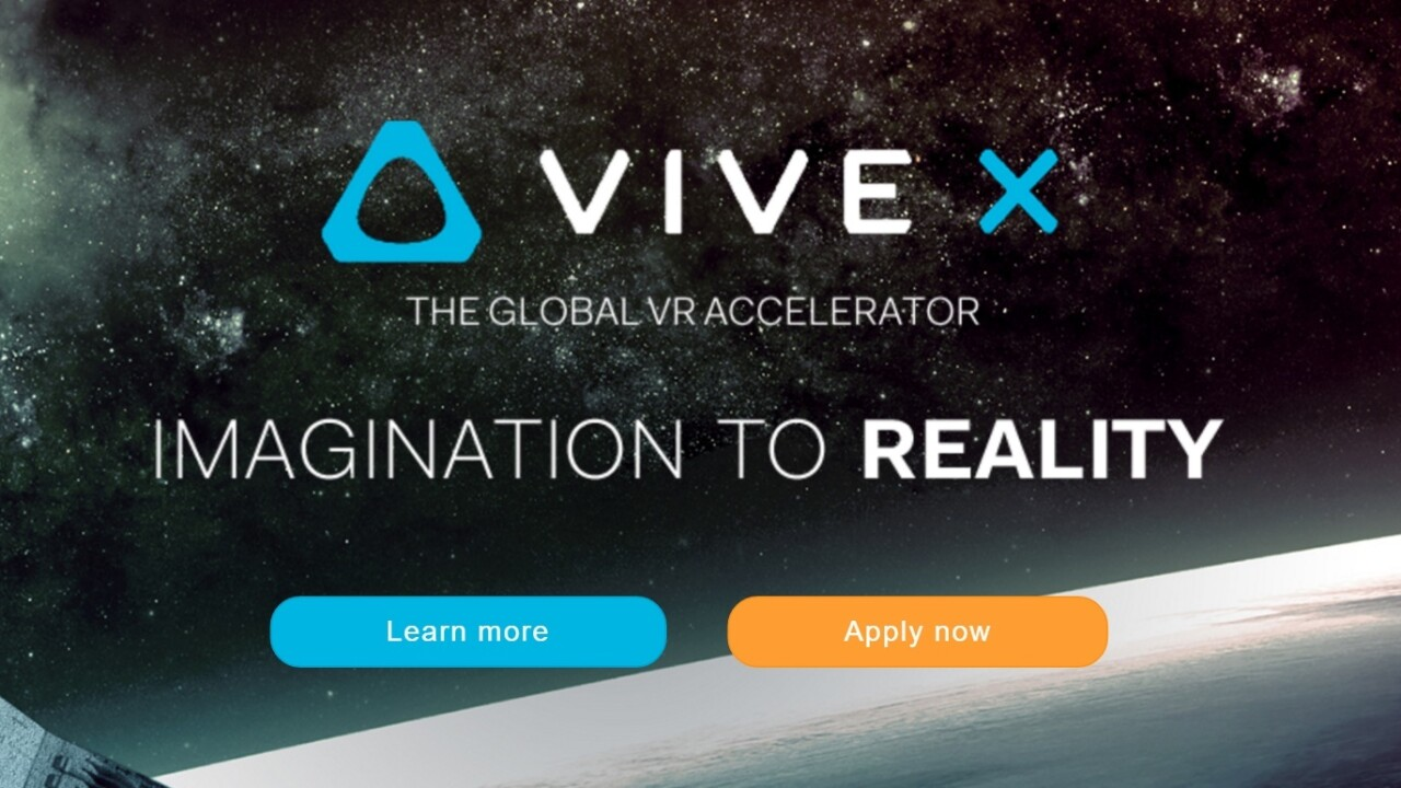 HTC launches a $100M startup accelerator to show it's really, really serious about VR