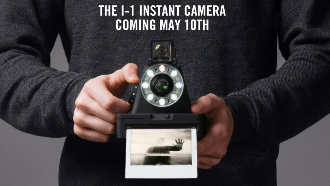 This camera lets you shoot real Polaroid film through an iPhone app