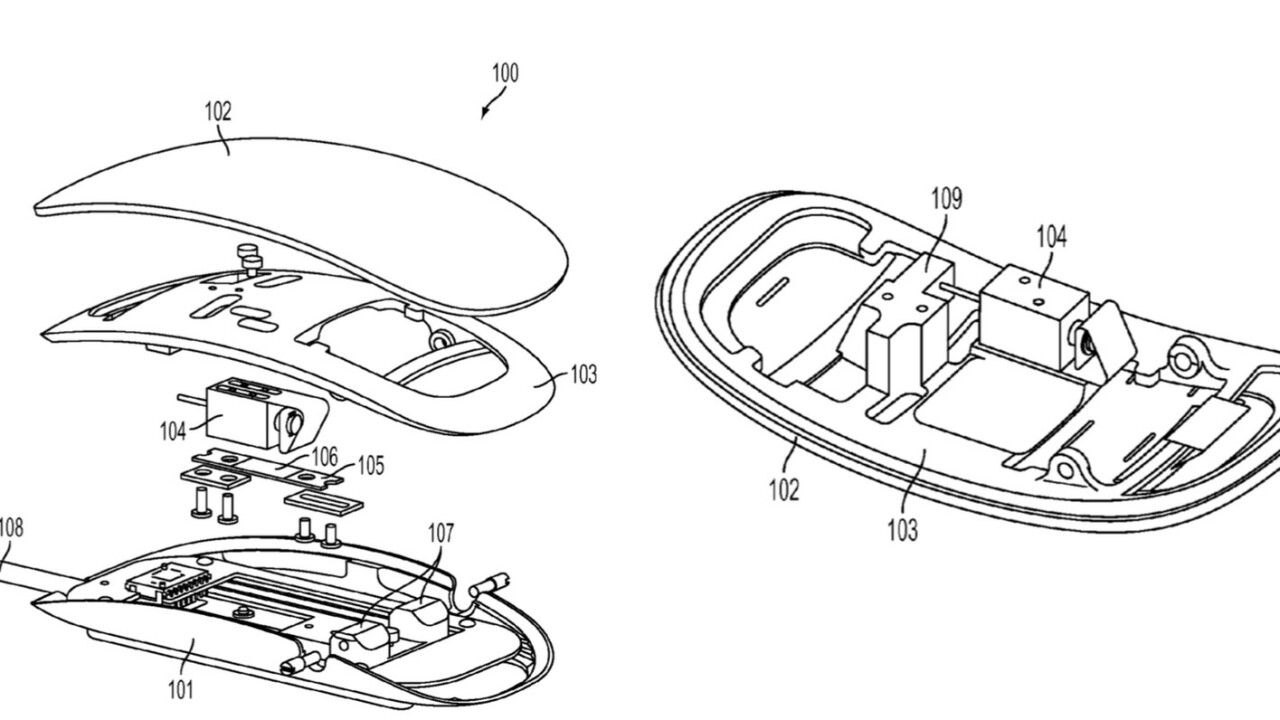 Apple patent shows next-gen Magic Mouse may have Force Touch