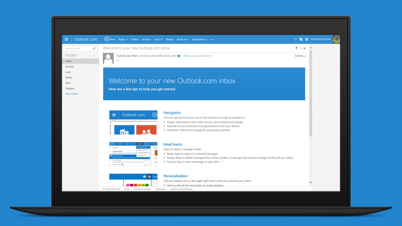 Microsoft is trialing premium Outlook email accounts at $3.99 a month