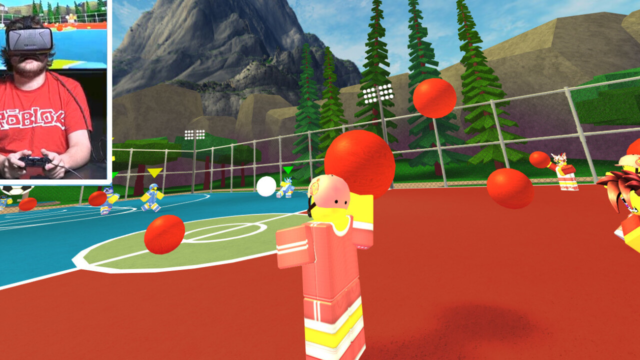 Roblox's cross-platform game creation network goes VR with its Oculus Rift launch