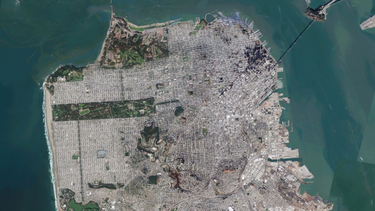This company is giving its satellite imagery of California away for free