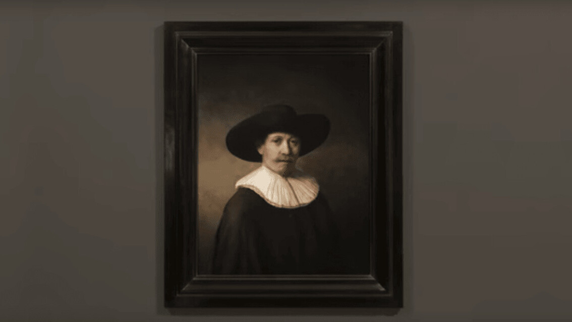A computer has made a Rembrandt painting and it's perfect