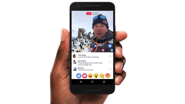Facebook Live update proves streaming is the way forward for the social network