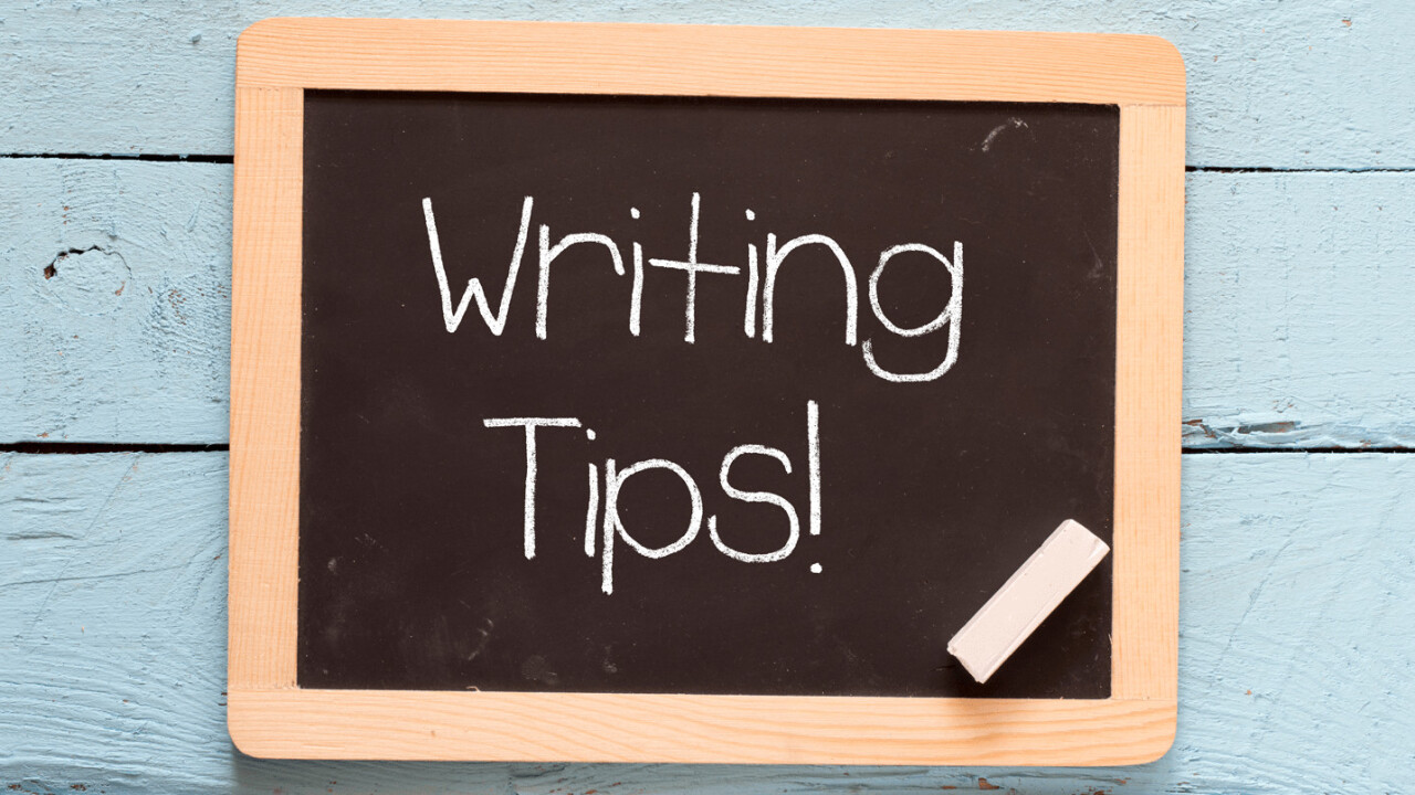 TNW's top tips for becoming a better writer