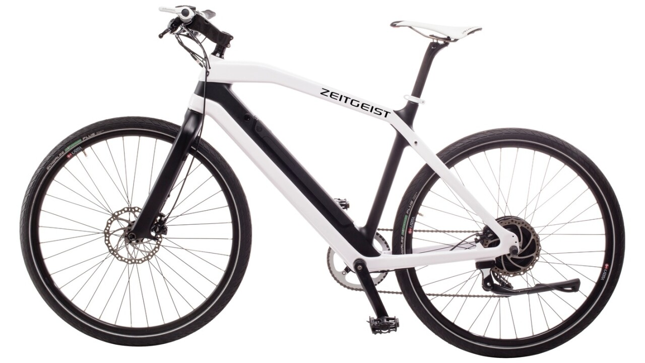 Zeitgeist thinks it's the Tesla of electric bicycles (and is probably right)