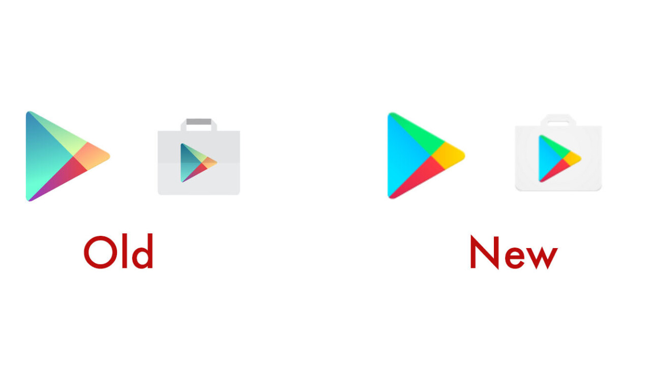 Google Play icons just got a flat design makeover