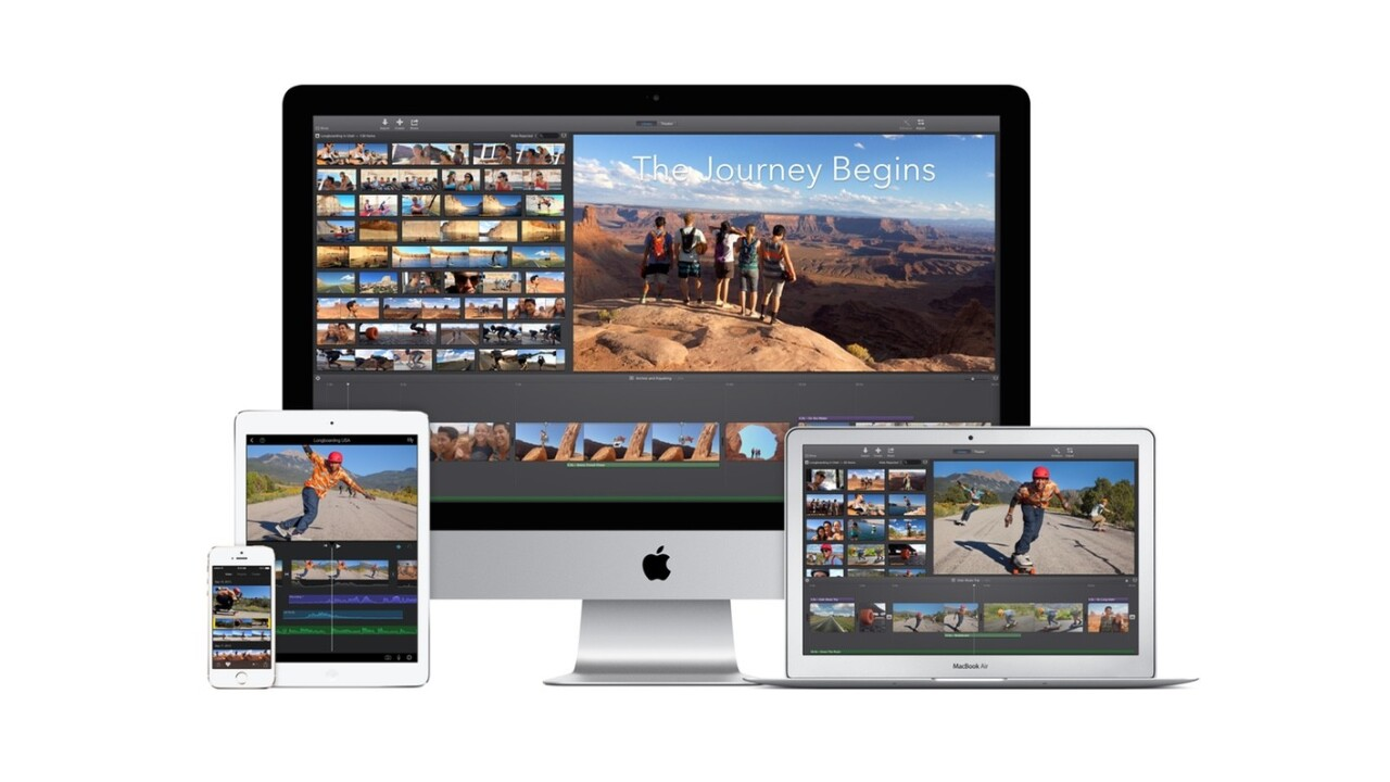 Apple updated iMovie for Mac to be more like the iOS version