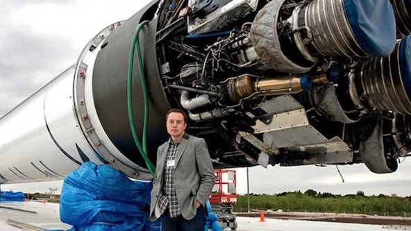 SpaceX finally lands its rocket on a drone ship after delivering bouncy castle for ISS