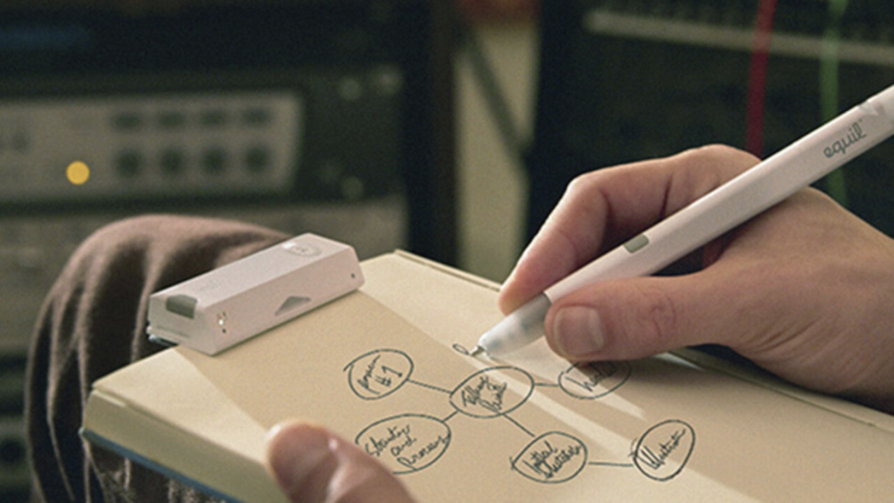 Instantly digitalize your creations with Equil Digital and Ink Smartpen 2