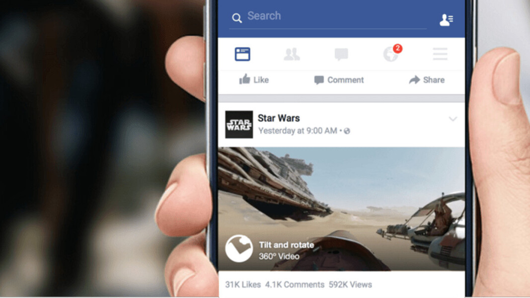 Facebook will soon let anyone upload 360-degree photos, no fancy hardware required