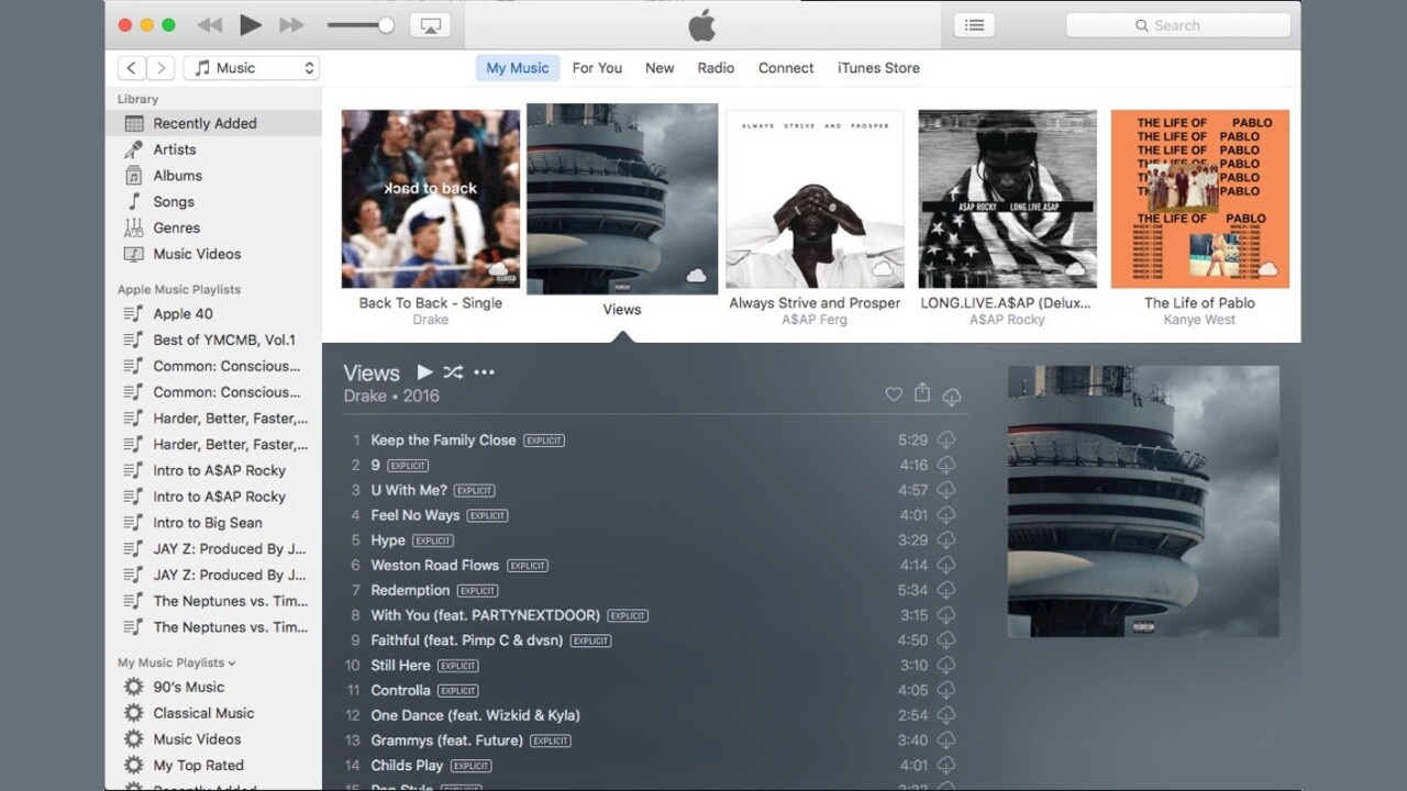 Apple updates OS X and gives iTunes a new look
