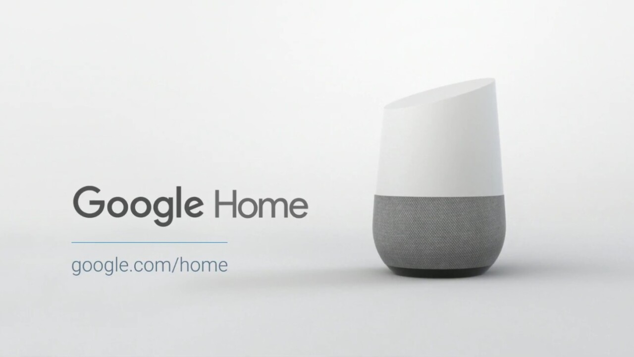 Google Home to land in the UK this Spring