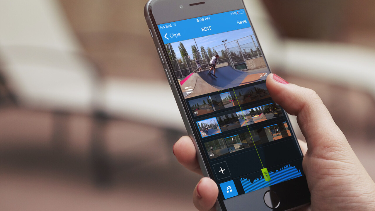 GroupClip for iOS lets you shoot multi-angle videos with your friends