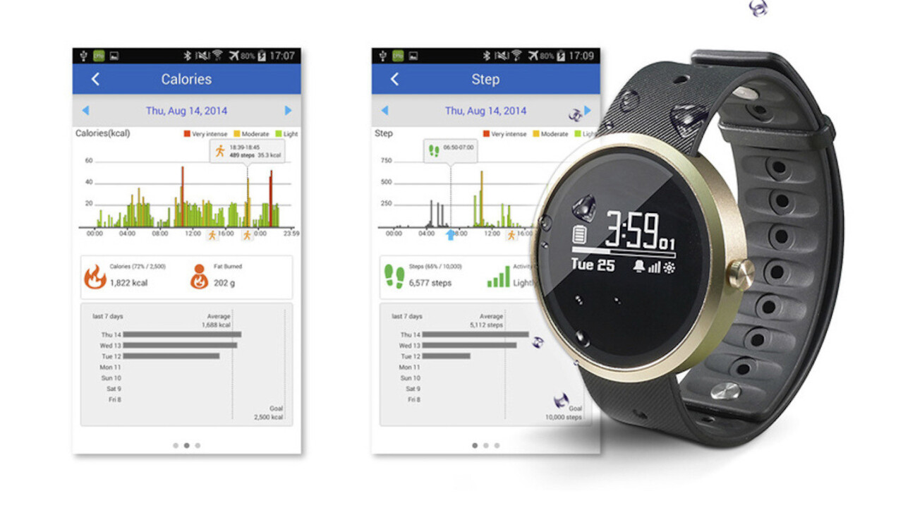Jarv Advantage Water-Resistant Smartwatch is your mobile personal assistant