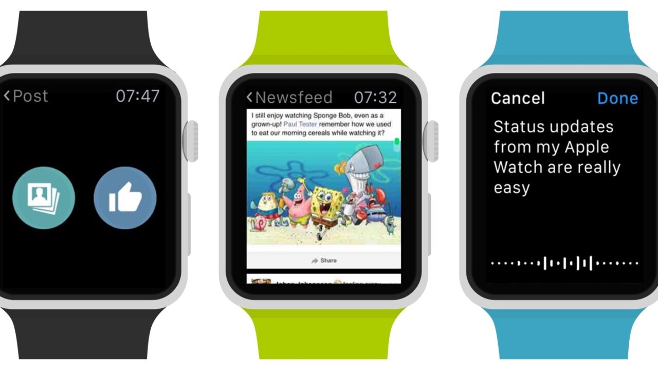 Littlebook puts Facebook on your Apple Watch to feed your social addiction
