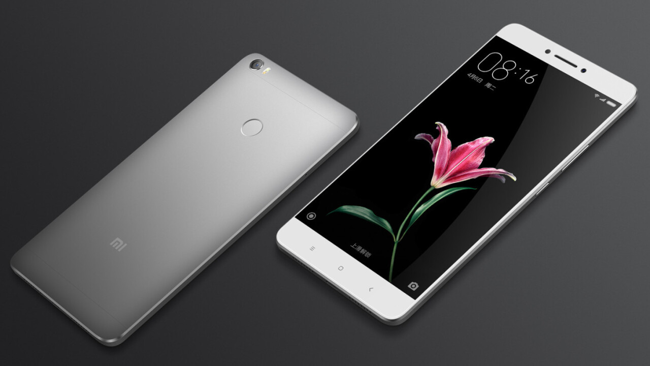 Xiaomi wants to bring phablets back with its massive 6.4-inch Mi Max