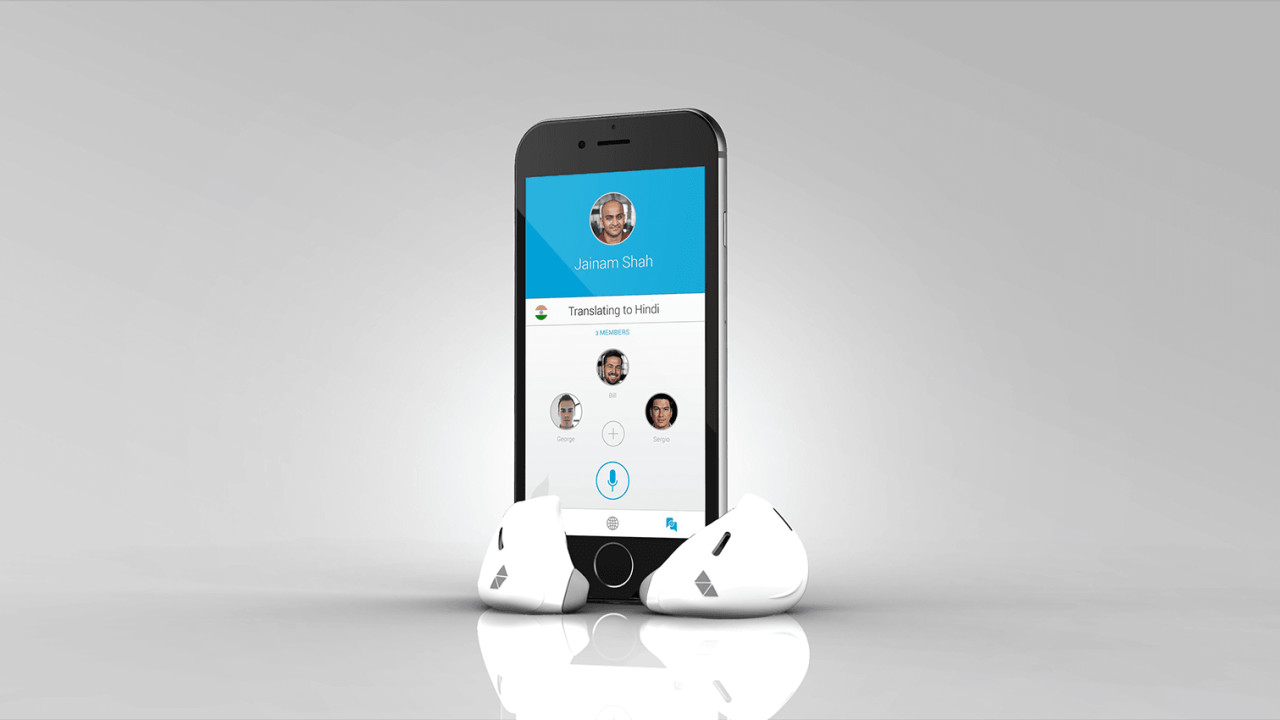 This nifty earpiece will translate your conversations in real-time