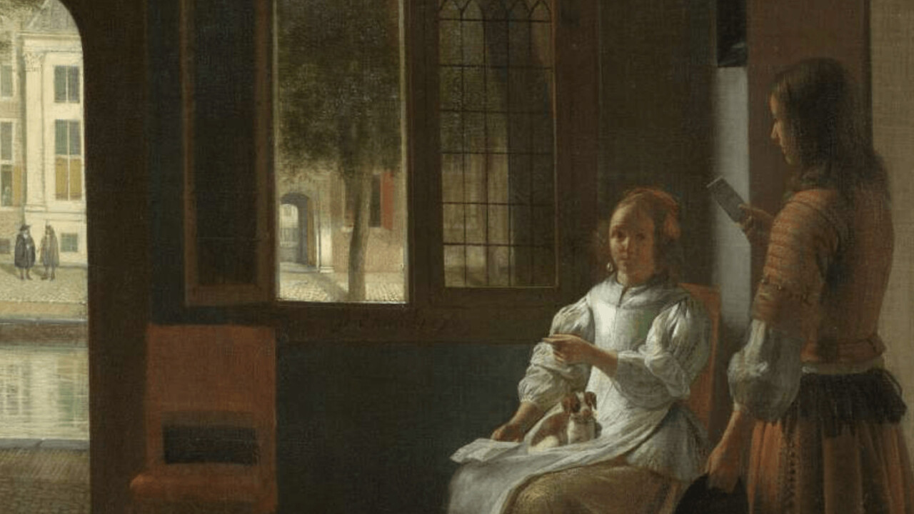 Tim Cook discovers iPhone in painting from 1670