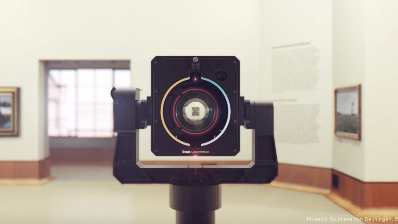 Google just unveiled a 'gigapixel' camera – but it's not for you to take selfies with