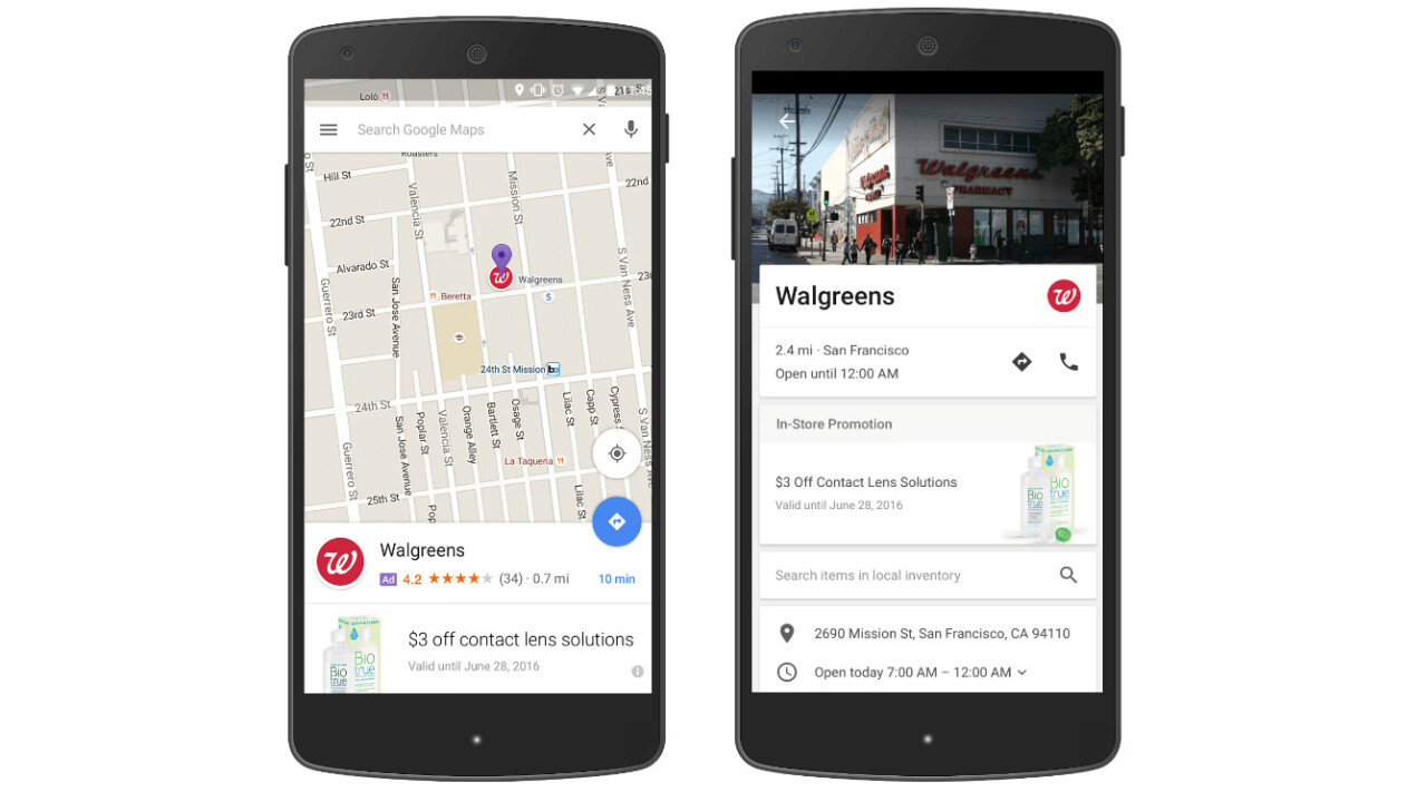 Watch out for ads disguised as pins on Google Maps searches