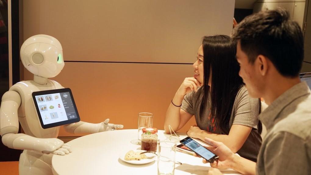Softbank's Pepper robot just got a job taking orders at Pizza Hut