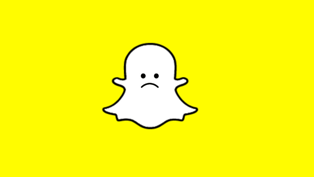 Snapchat just deleted its (Facebook) account