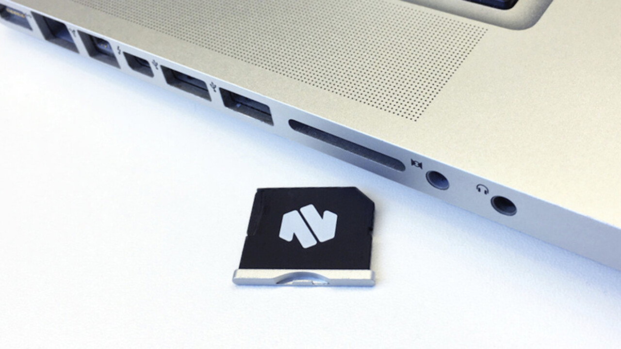 Give your Macbook more storage with Nifty MiniDrive