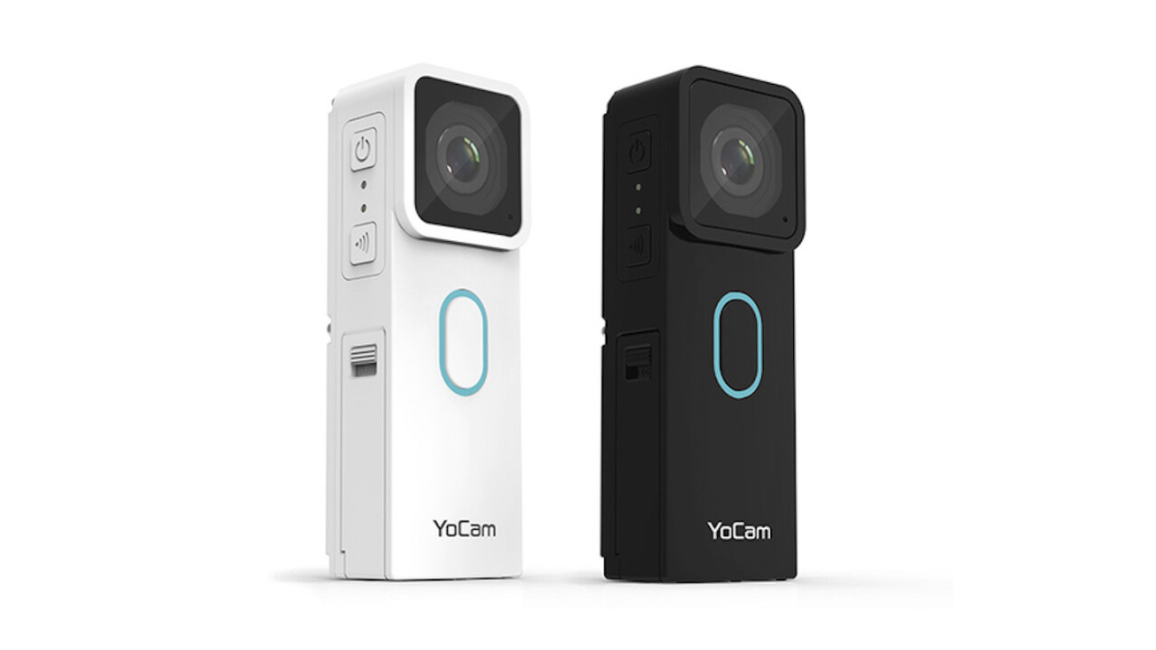 YoCam Versatile Waterproof Camera lets you edit, share and more