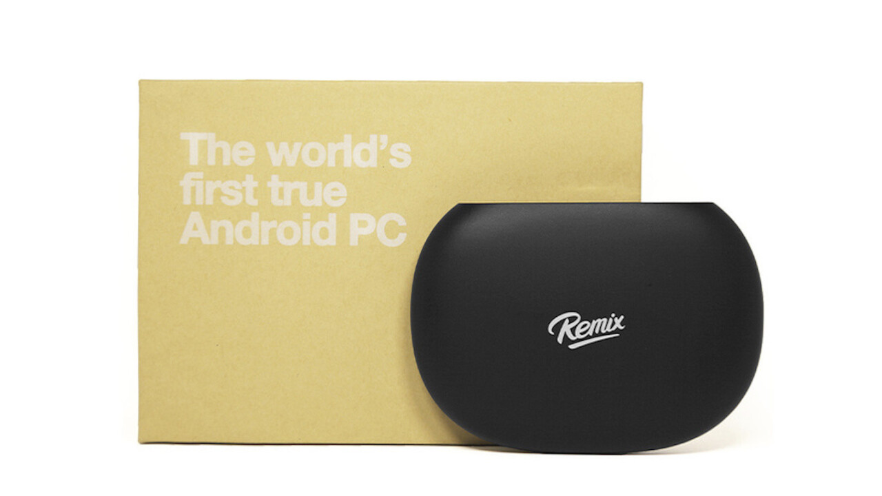 Remix Mini Android PC combines the best of both computing worlds