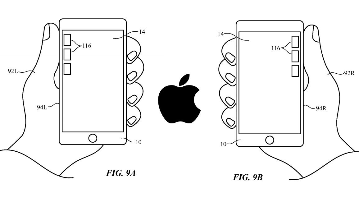 Apple has a genius idea for using the iPhone with one hand