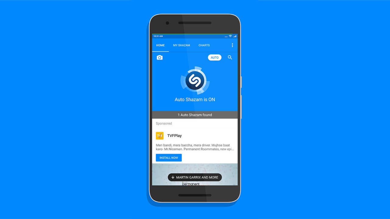 Shazam's new feature on Android has convinced me to ditch SoundHound for identifying songs