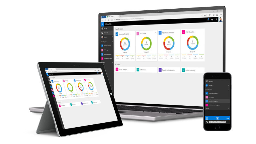 Microsoft's Planner project management app is now available to all Office 365 users