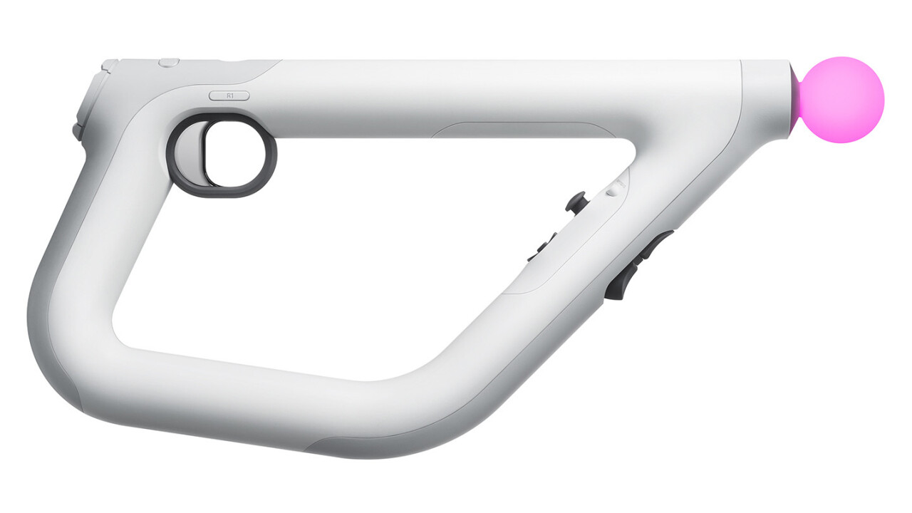 This is Sony's new controller for VR FPS games