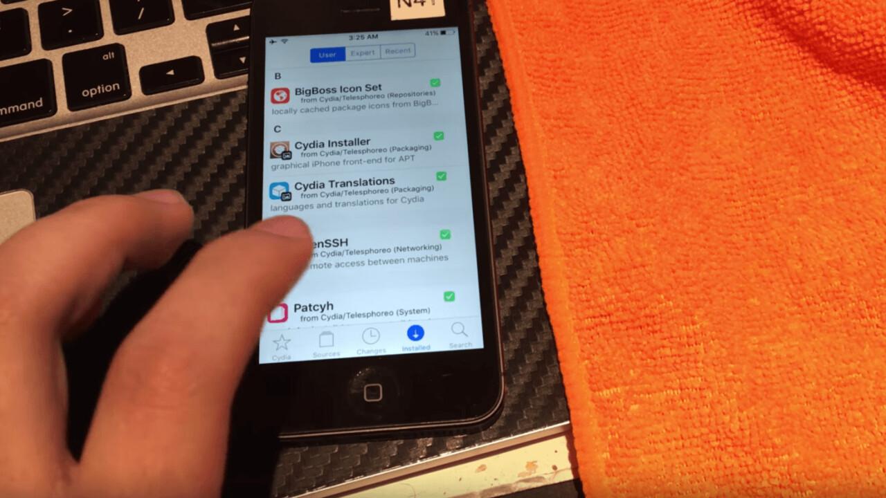 Not even in public beta, iOS 10 has already been jailbroken