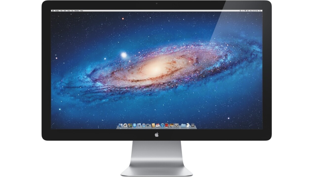Apple is letting the Thunderbolt display die slow as you shop for new monitors