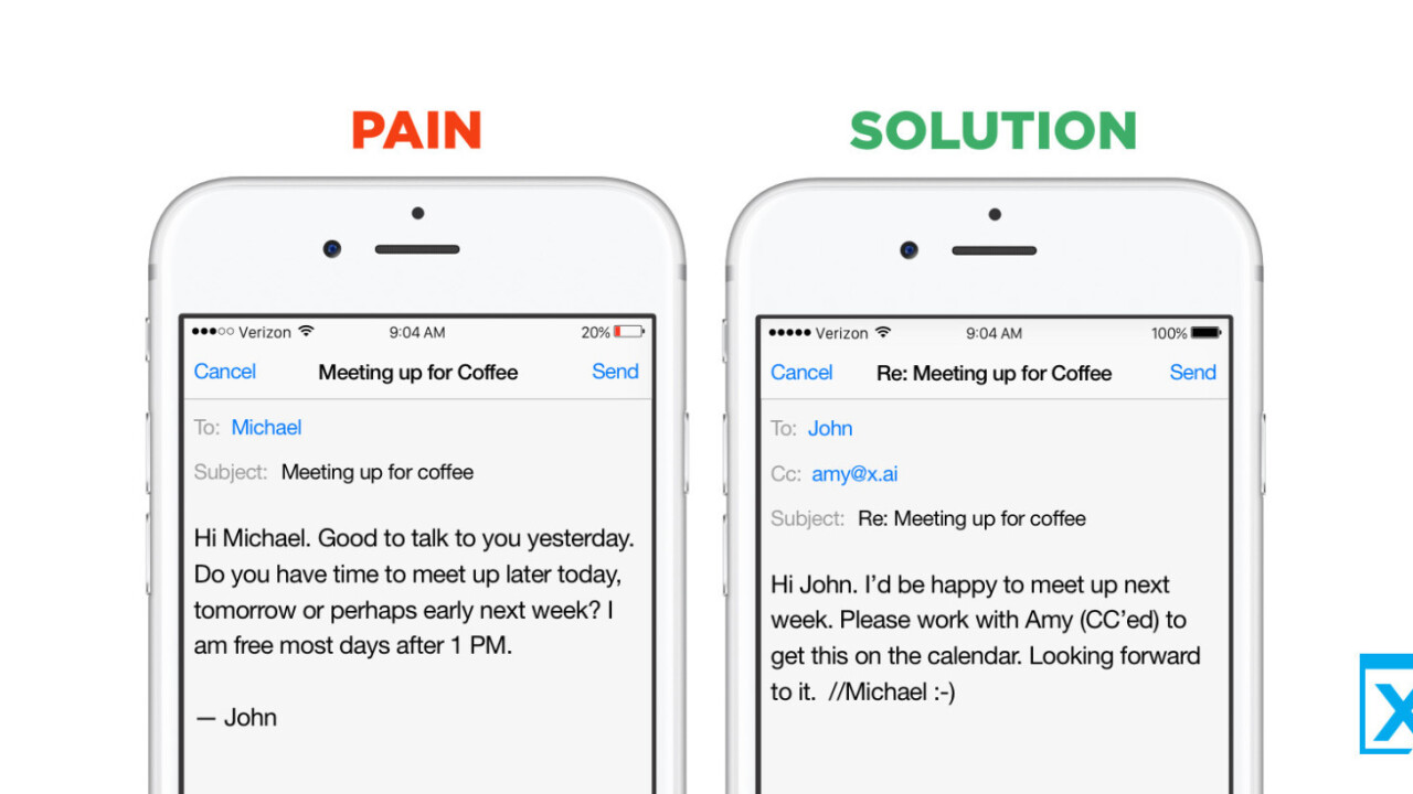 X.ai's intelligent meeting scheduler now works with Outlook.com and Office 365 calendars