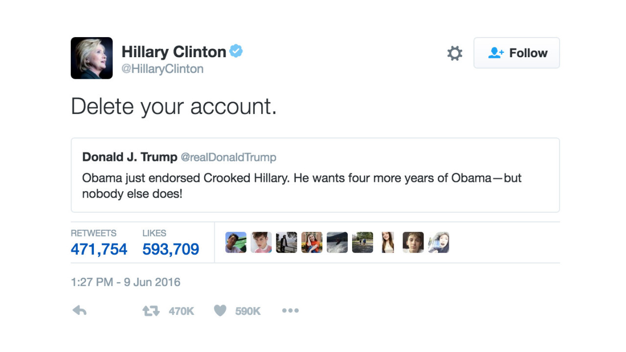 New app makes it easier than ever to tell Donald Trump to delete his account