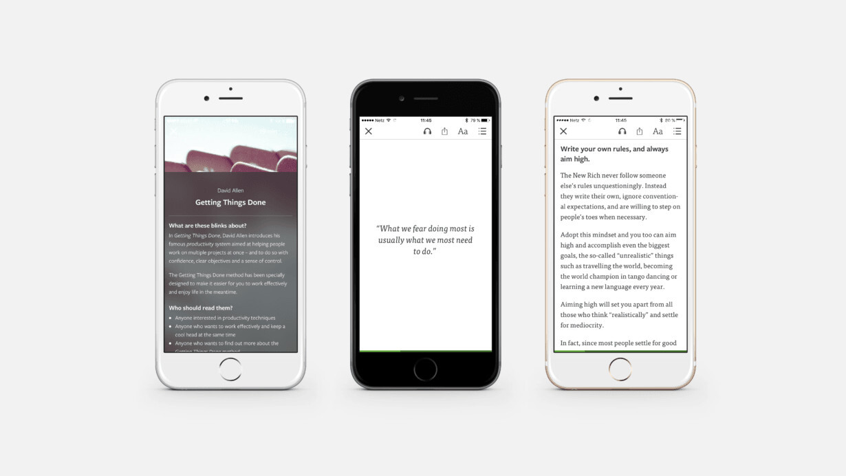 Blinkist launches a magazine that's the cliff's notes for picking your cliff's notes
