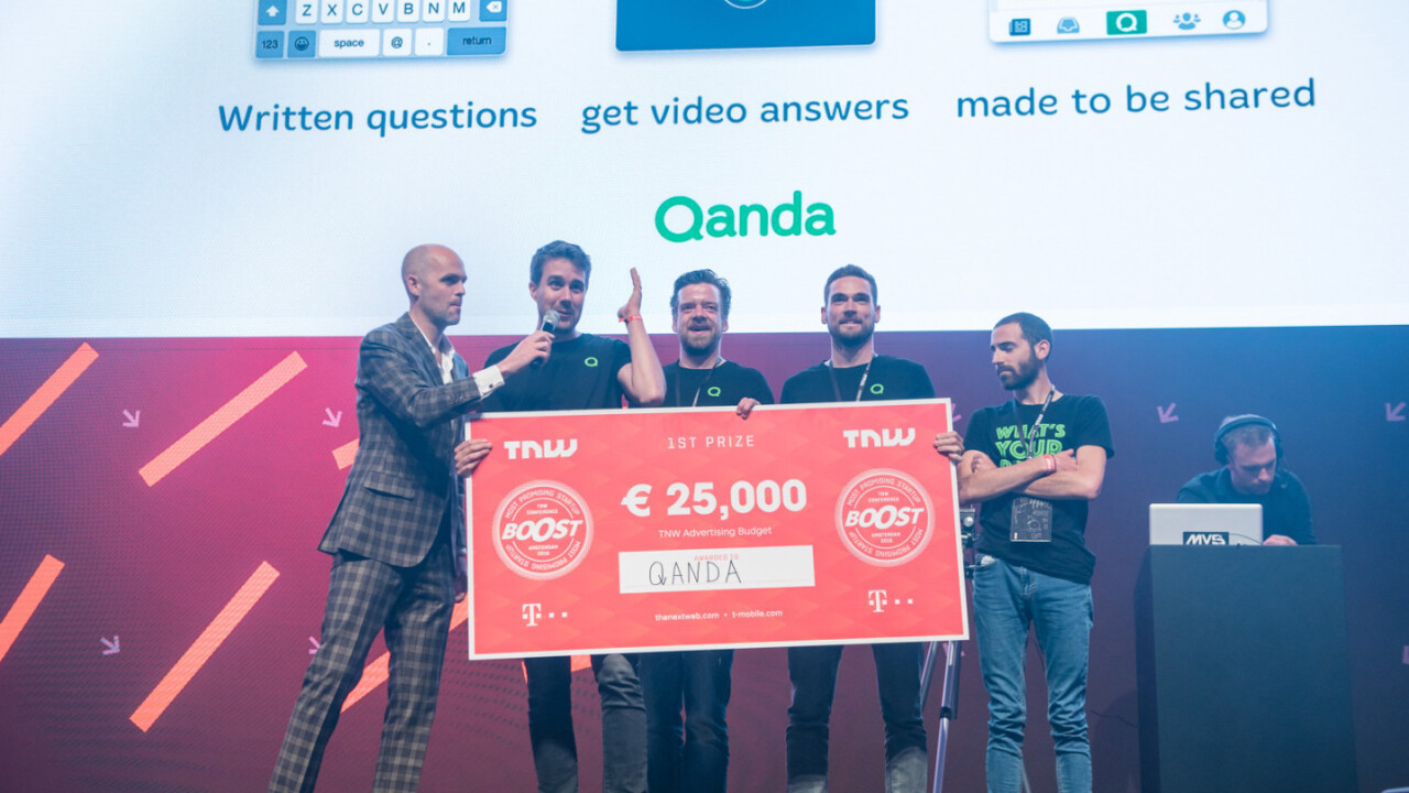 Meet Qanda – winner of the TNW Europe startup competition