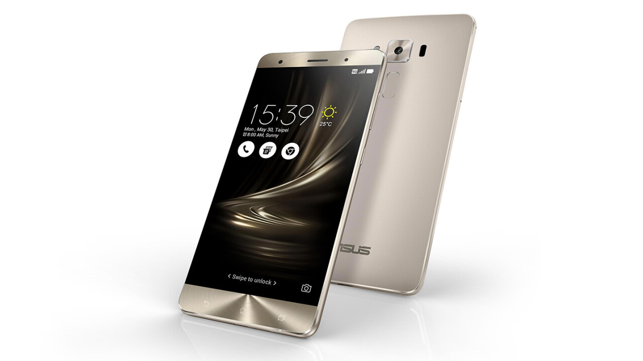 ASUS' ZenFone 3 Deluxe is the world's first Snapdragon 821-based smartphone