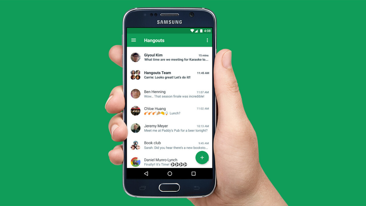 Google Hangouts for Android gets video messaging support 2 years after the iOS version