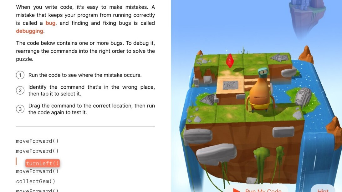 Preview: Apple's Swift Playgrounds is built for kids, but adults might like it too