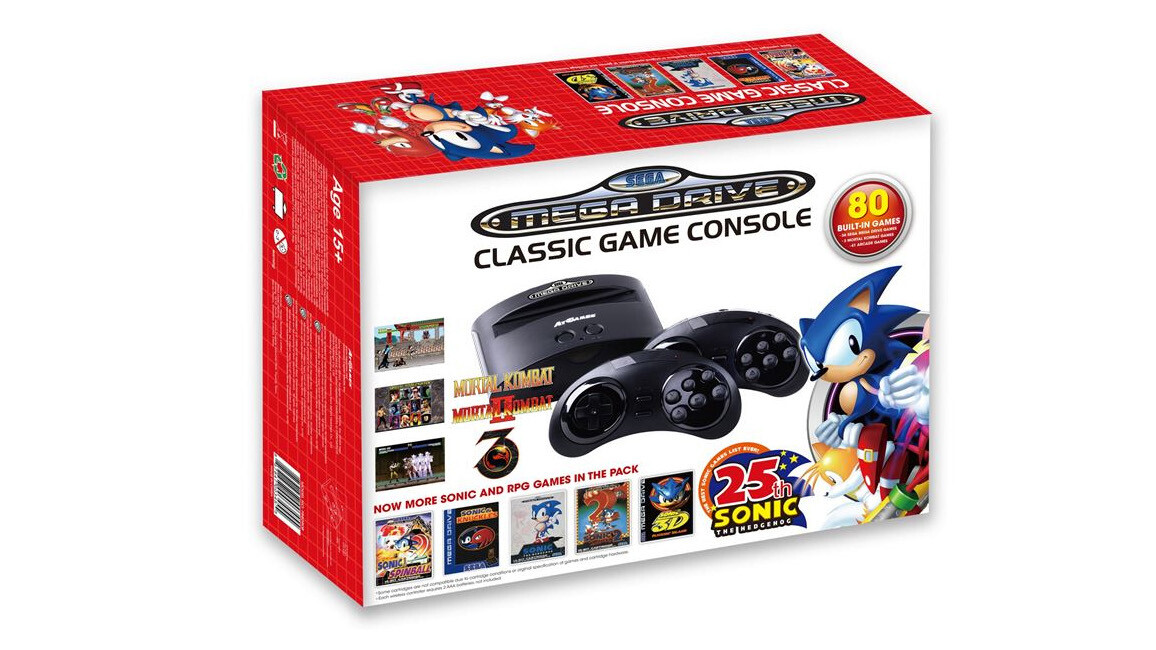 Sega takes on Nintendo with a retro Mega Drive console and portable gaming system