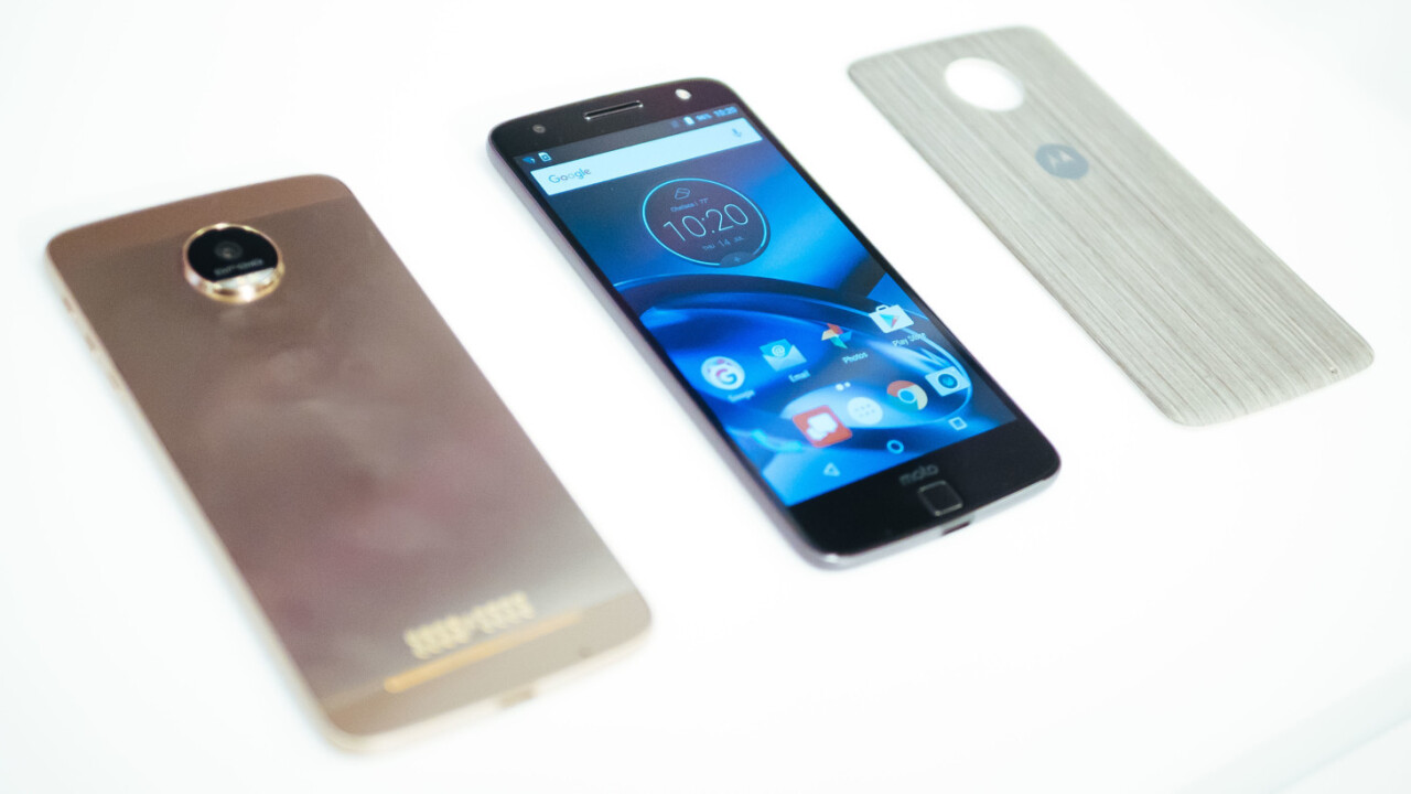 Hands-on: The Moto Z and Z Force give me hope for modular phones