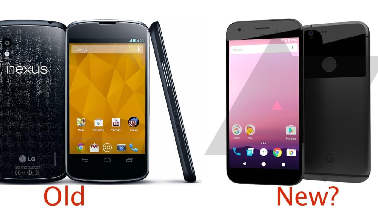 Google's HTC-built 2016 Nexus may look a lot like the 2012 Nexus 4
