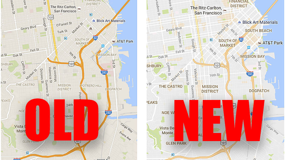 Smart redesign makes Google Maps easier on the eyes