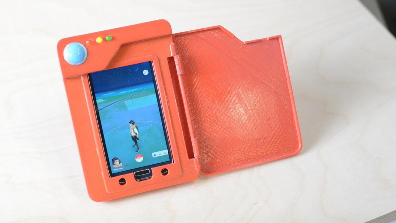 Genius builds a Pokédex phone battery case, and Nintendo should too
